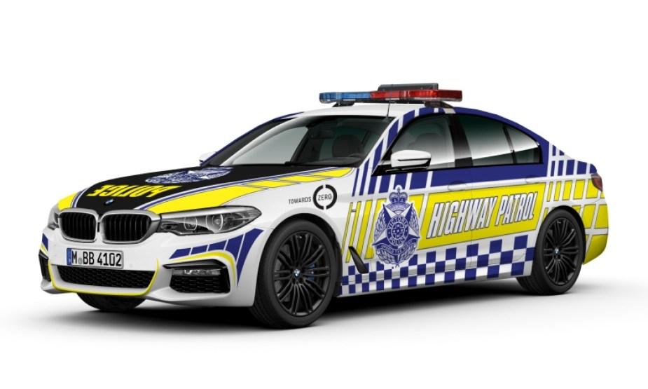 Victoria Police Interceptor BMW 530d