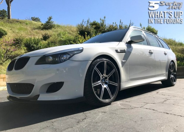 E61 BMW 5 Series Touring