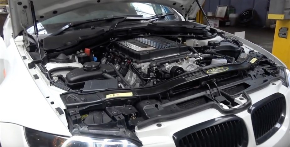 Chevrolet LT4 V8 swapped BMW E92 M3