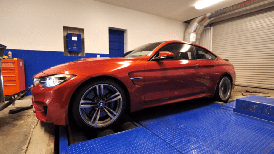 BMW M3 M4 Dyno Competition Package