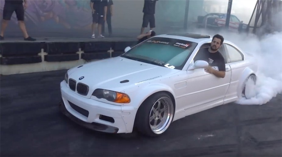 BMW E46 Wide body and V8 swapped for drifting.