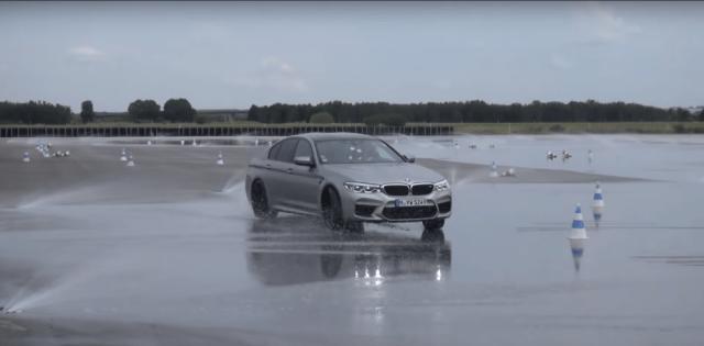 YouTuber Shmee150 Drives BMW M550i