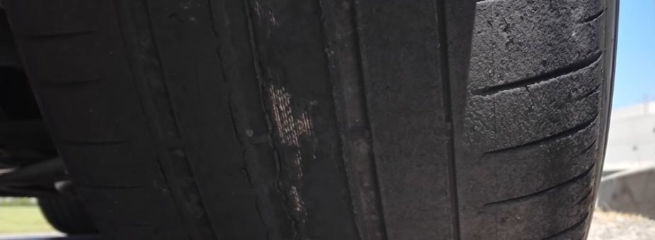 2018 BMW Bad Tires