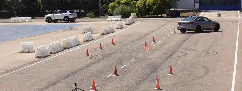 2018 BMW Moose Test Crash