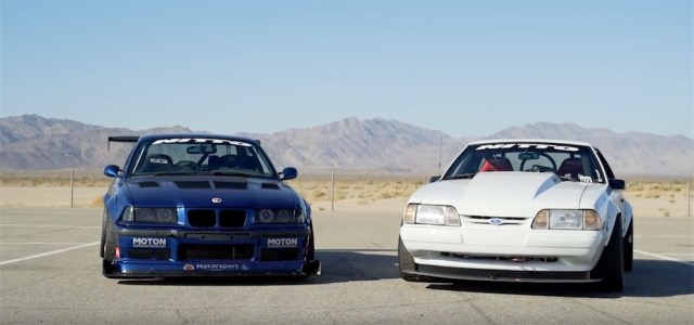 Supercharged Mustang vs LS-Swapped BMW