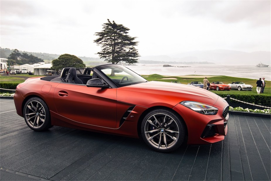 BMW Z4 M40i Roadster First Edition at Monterey.