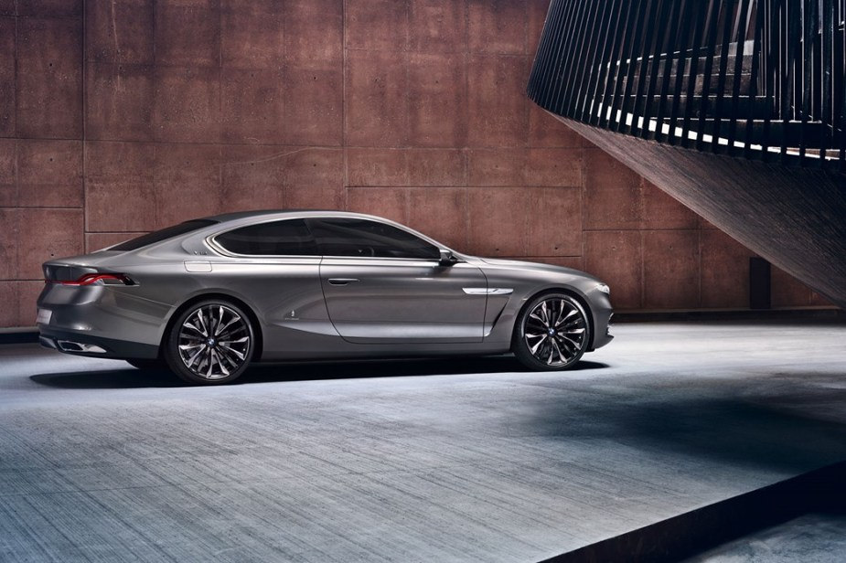 Gran Lusso Coupe concept - 9 Series Maybach rival.