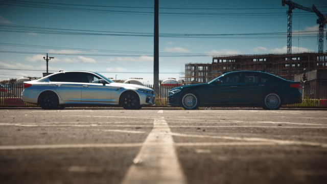 5series.net 2019 BMW M5 vs. Alpina B5