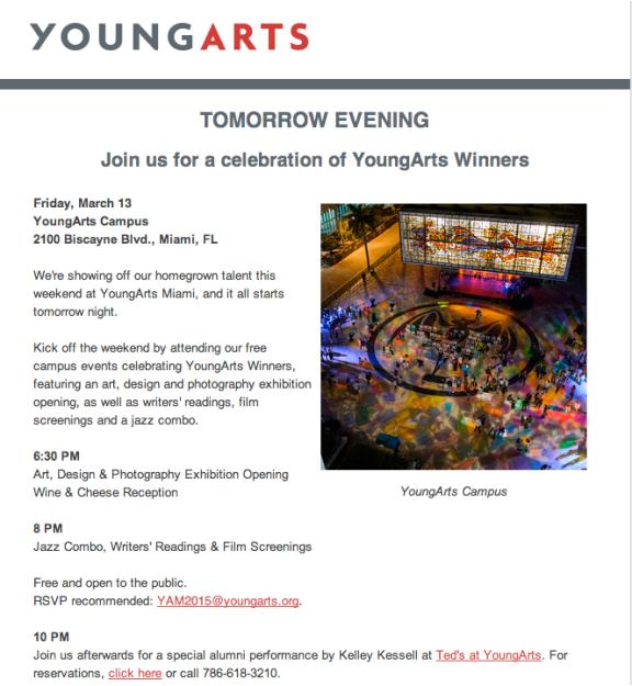 YoungArts 3.13.15