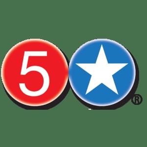 5 Star Burgers Logo - Albuquerque, Santa fe, Taos, NM and Clayton and Kirkwood, MO