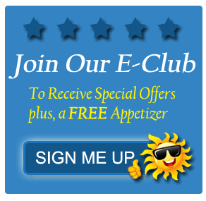 sign up for emails and get a free appetizer