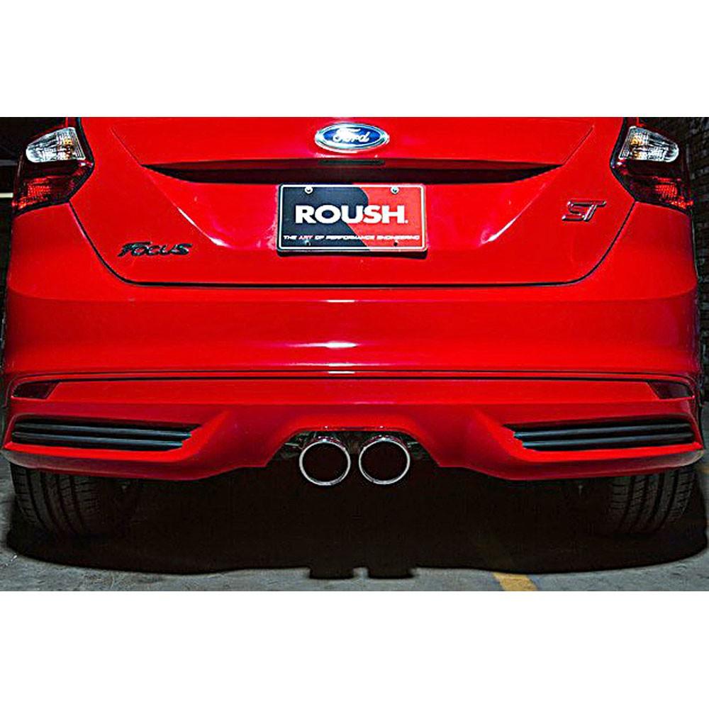 2013 2018 focus st 2 0l roush high flow exhaust kit 421610