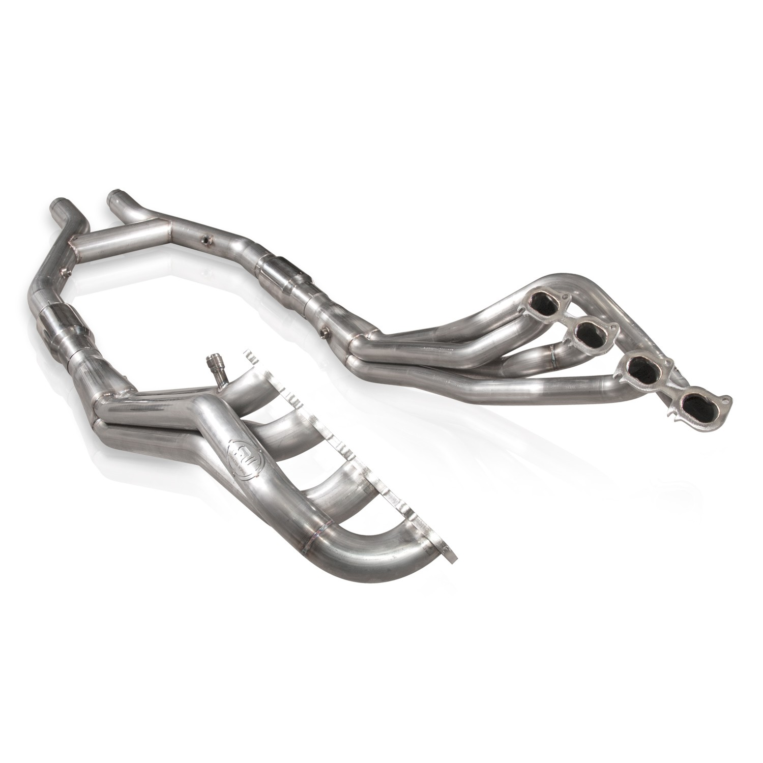Stainless Works Shelby Gt500 Headers 1 7 8in Primaries High Flow Cats 3in H Pipe