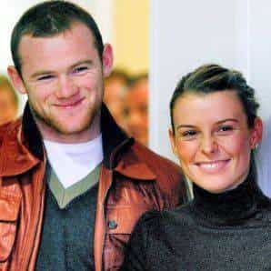 Coleen McLoughlin with her Fiancee Manchester United's Wayne Rooney Pictures Photos