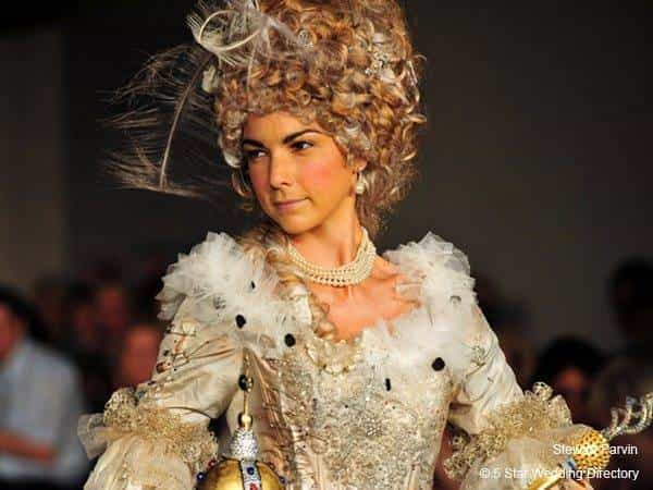 Marie Antoinette meets Punk Rock at the White Gallery London