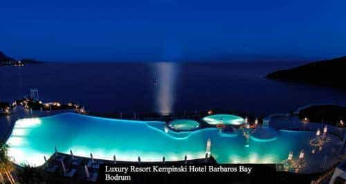 Kempinski Hotel, Barbaros Bay