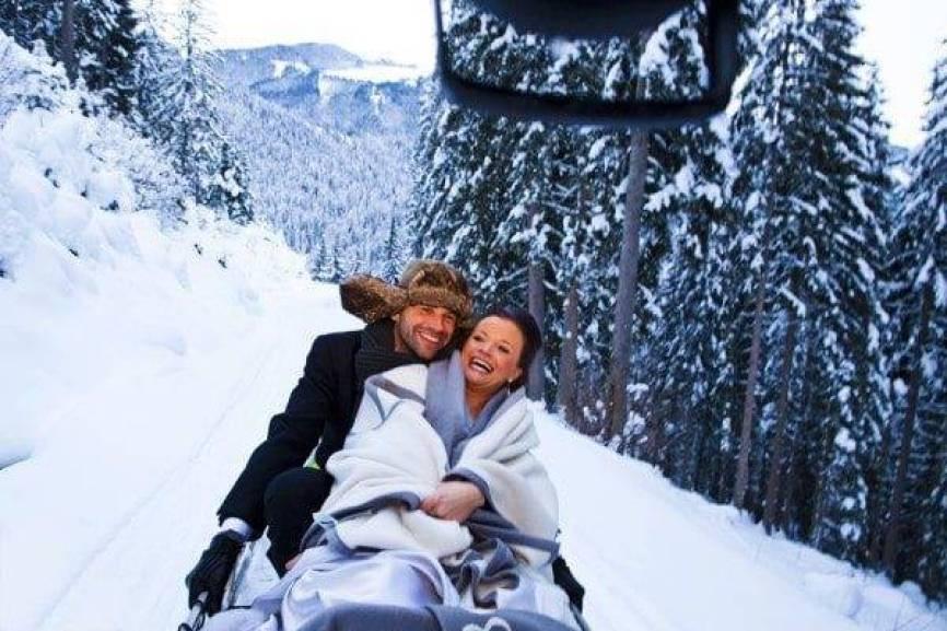 Winter Wonderland Wedding Austria