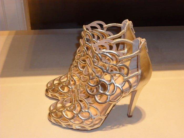 Oscar de la Renta bridal Shoes