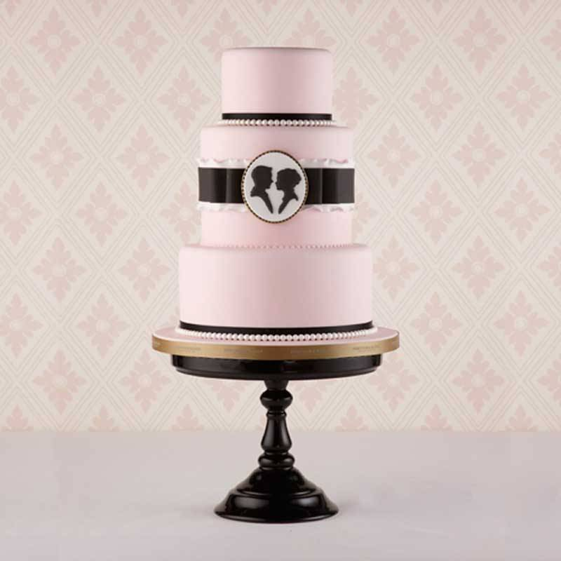 Cameo Cake - Inspired by Queen Charlotte's love of cameos and silhouettes