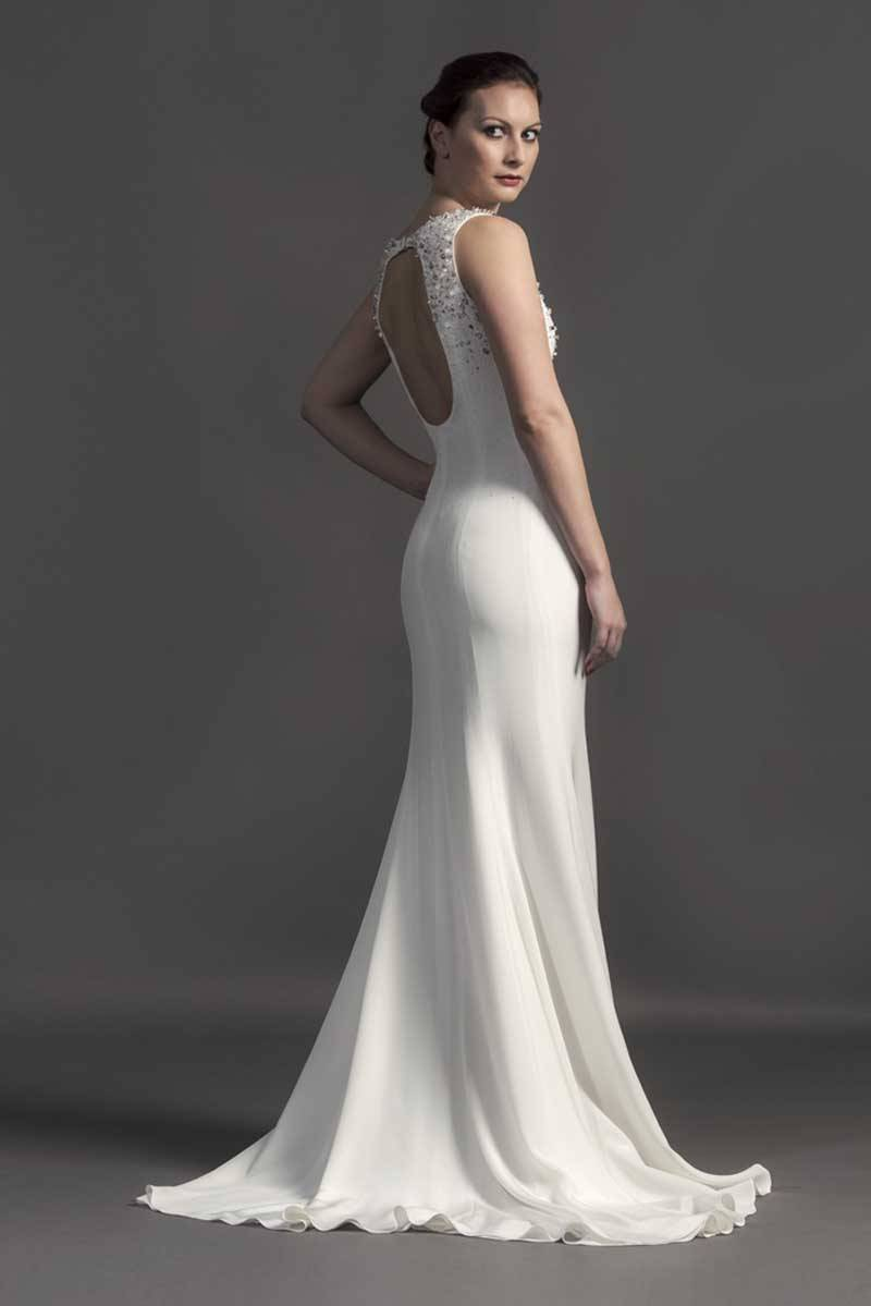 Susie Stone - 1920's Gown back