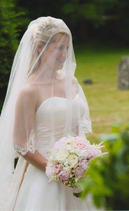 Bespoke Silk Tulle Wedding Veil