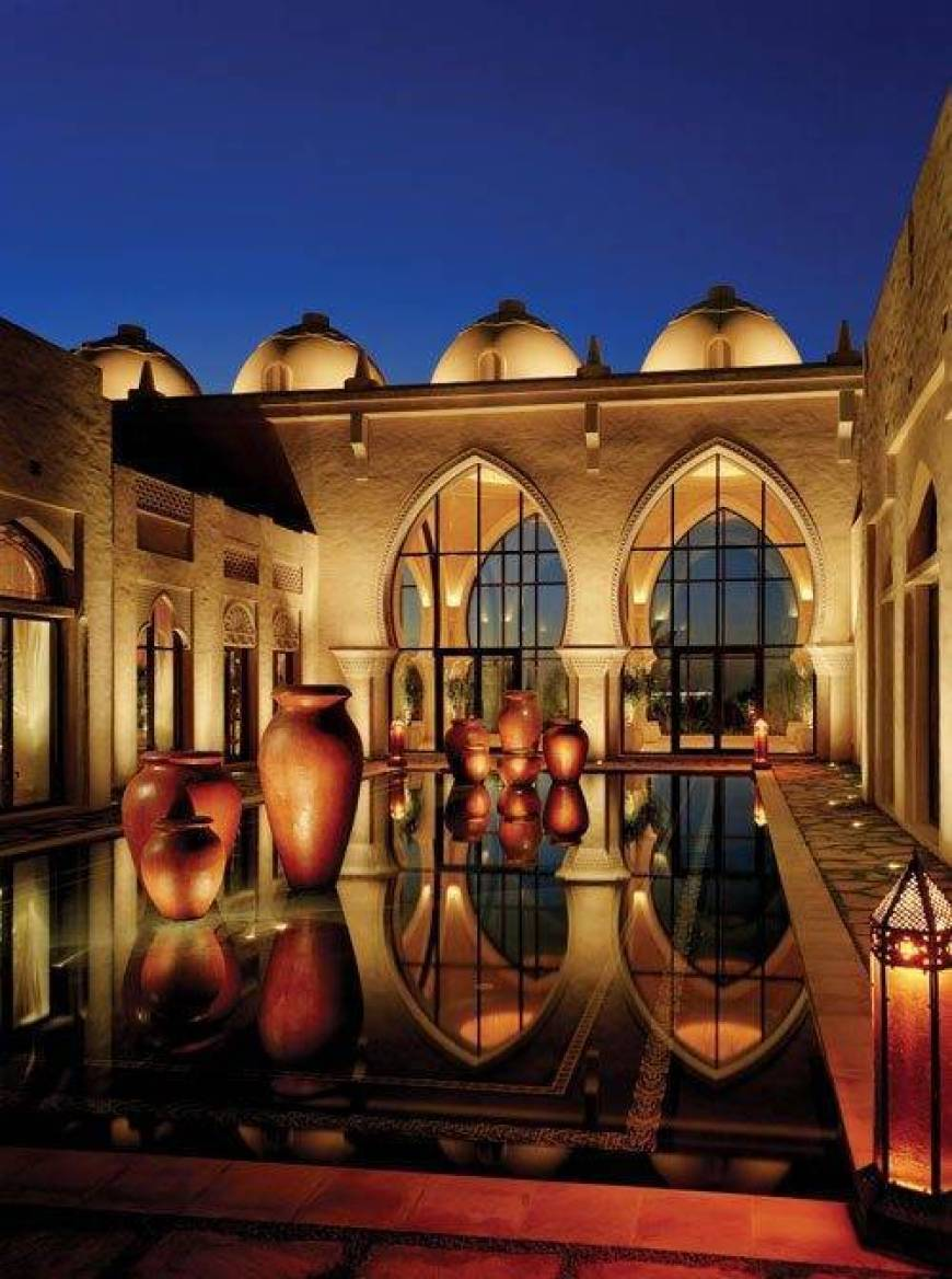 Arabian Court Refecting Pool