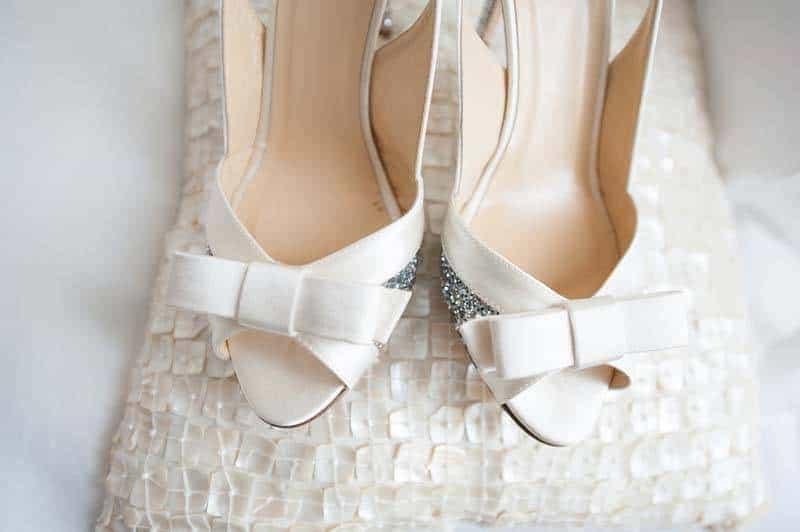 Peep Toe Wedding Shoes