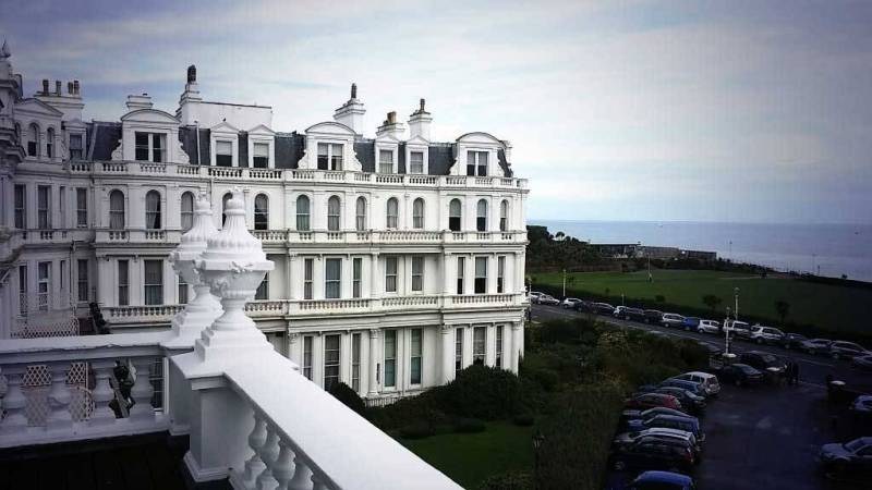Balcony View - The Grand Hotel