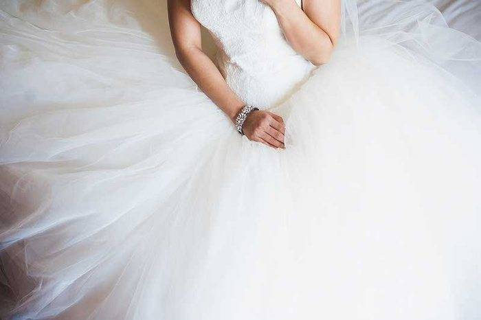 Vera Wang Wedding Gown
