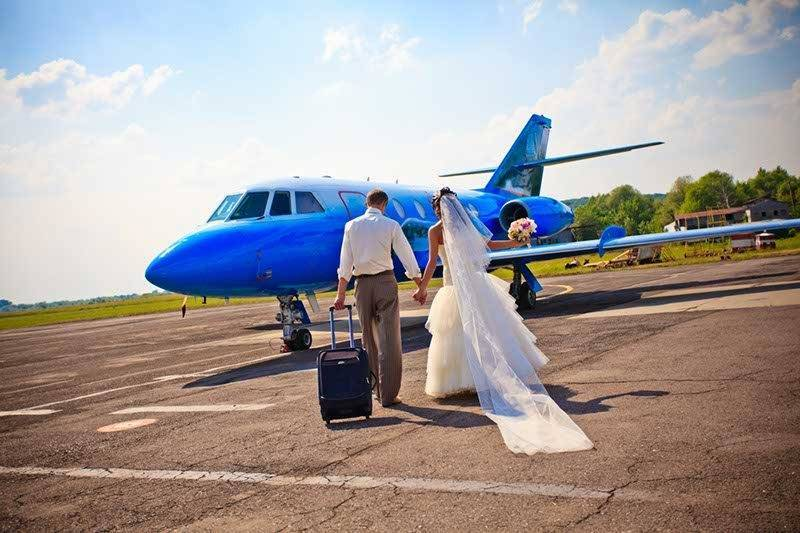 Private Jet For Weddings