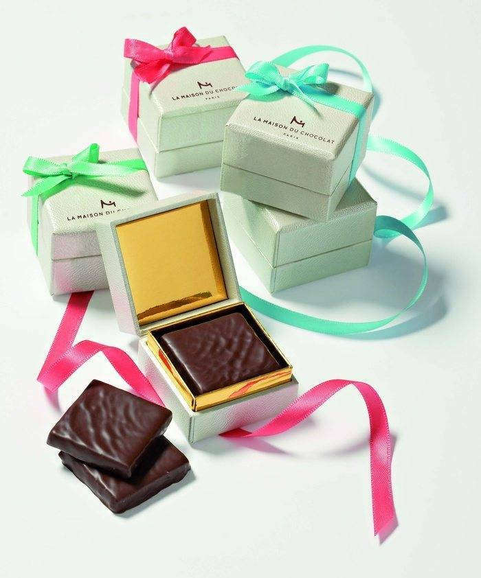 Box of Chocolate Wedding Favours