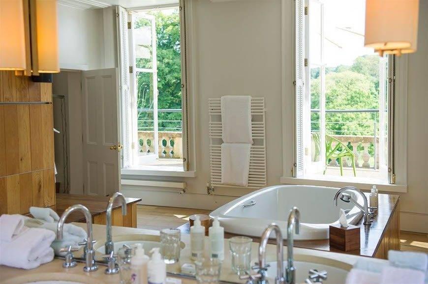 Bathroom At Cowley Manor