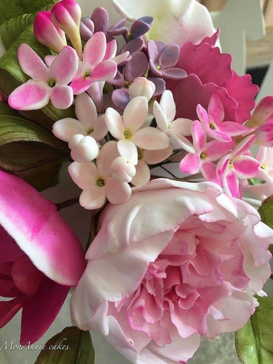 Sugar Flowers - Peonies