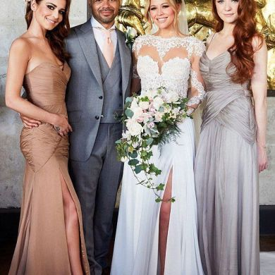 Kimberley Walsh Ties The Knot In Barbados 1