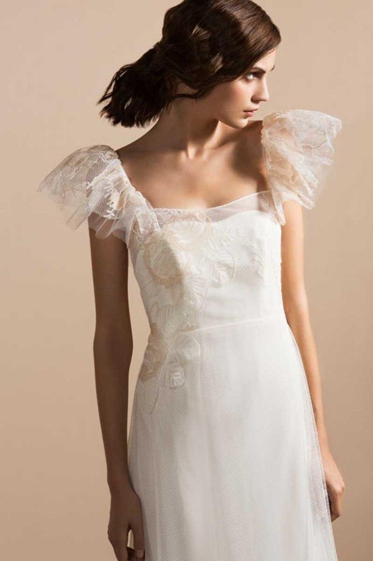Parisian Chic Bridal Gowns By Delphine Manivet