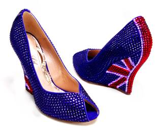 Perfect Shoes For The Queens Jubilee