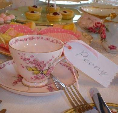 Afternoon Tea And Scones On A Long Lazy Summers Day