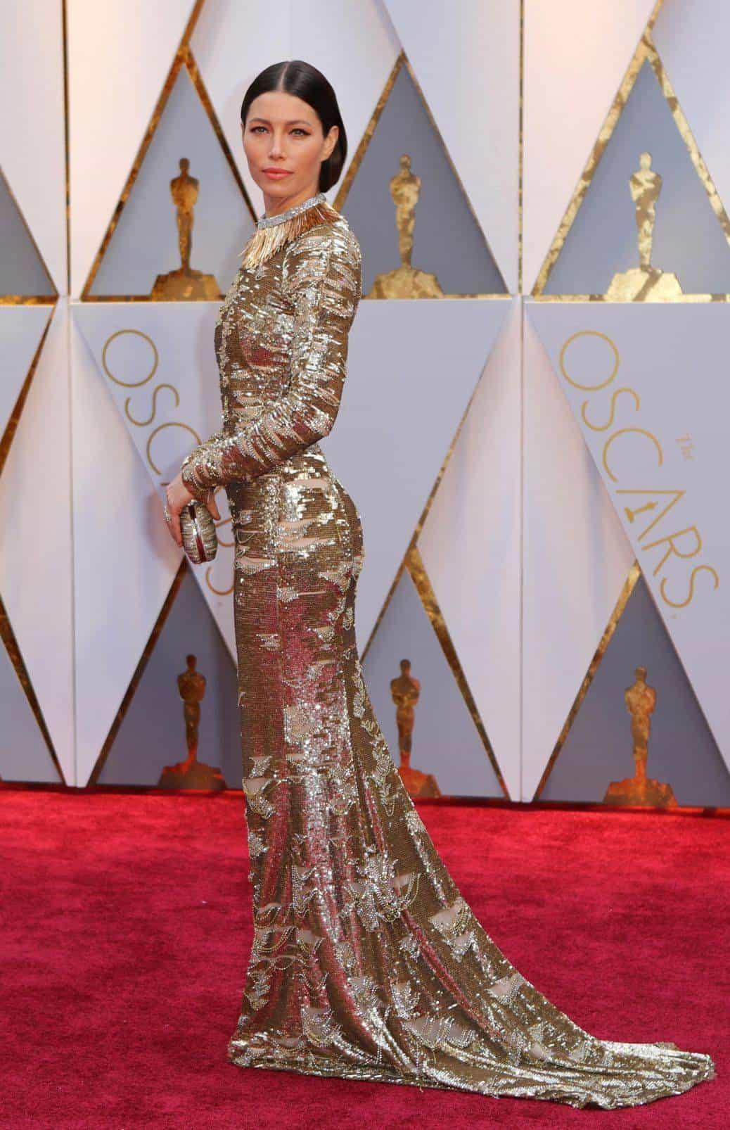 89th Academy Awards - Oscars Red Carpet Arrivals - Hollywood, California, U.S. - 26/02/17 - Actress Jessica Biel. REUTERS/Mike Blake
