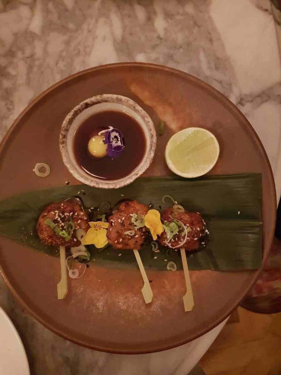 Review: The Ned - Gorgeous food at Kaia