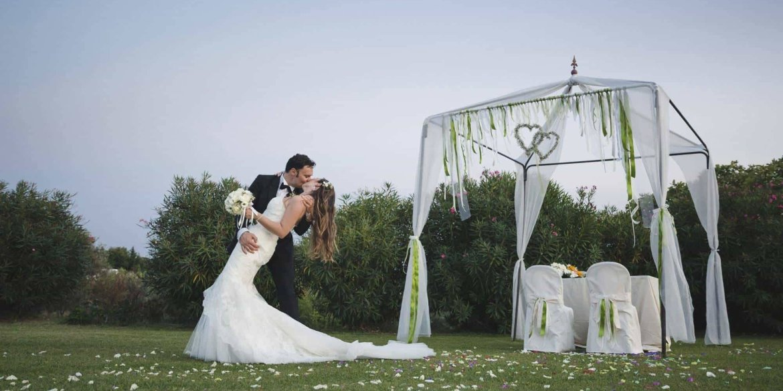 Outdoors Indoors Wedding in Italy