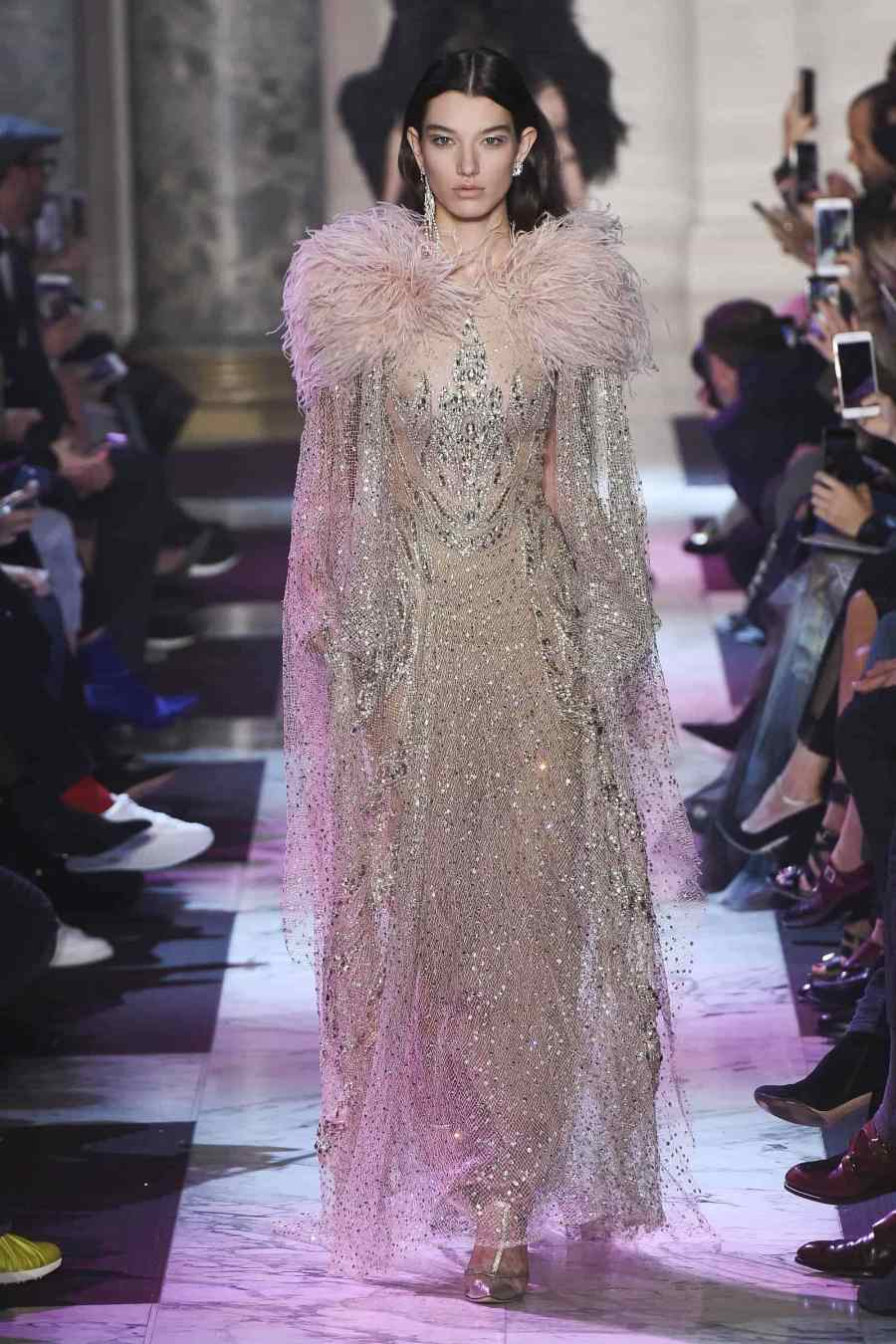 Paris Haute Couture Fashion Week 2018 - Elie Saab