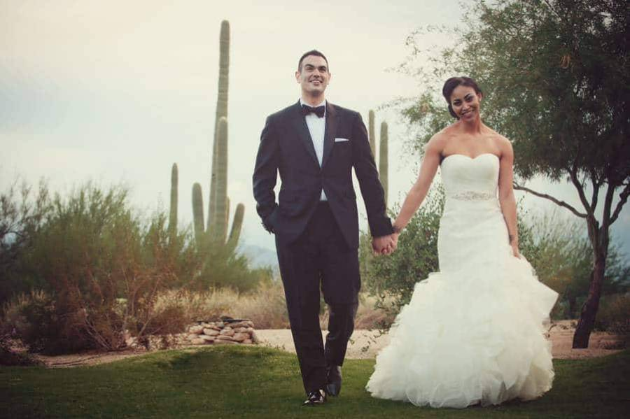 A luxury wedding in Arizona