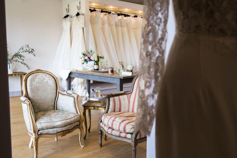 Lyn Ashworth's new bridal boutique