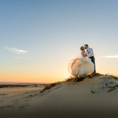 Real Wedding: One year beach remix