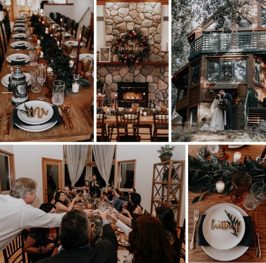 cabin wedding 2a
