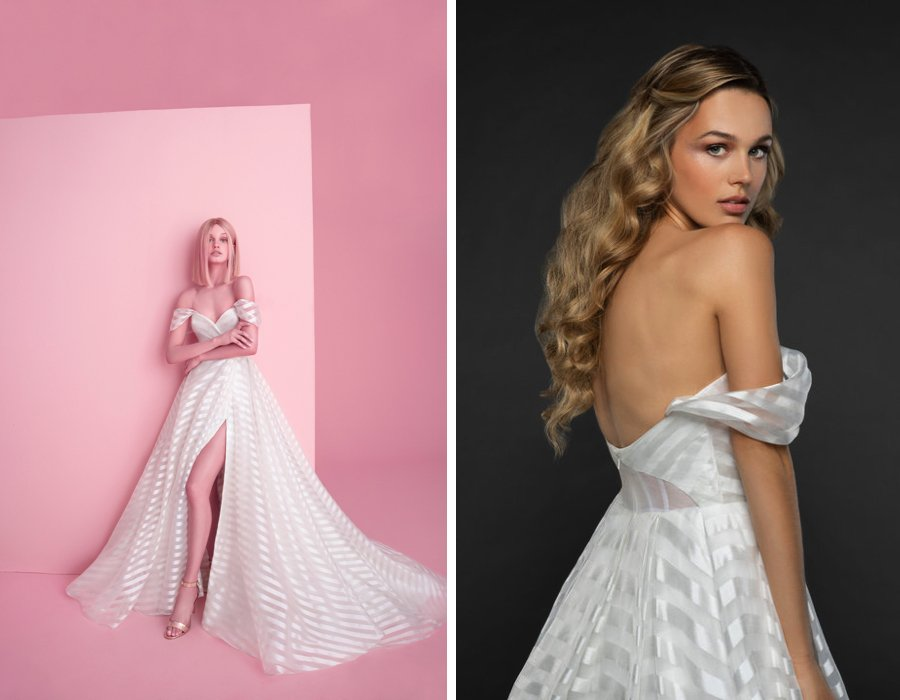 Dress collection: Hayley Paige Fall 2018