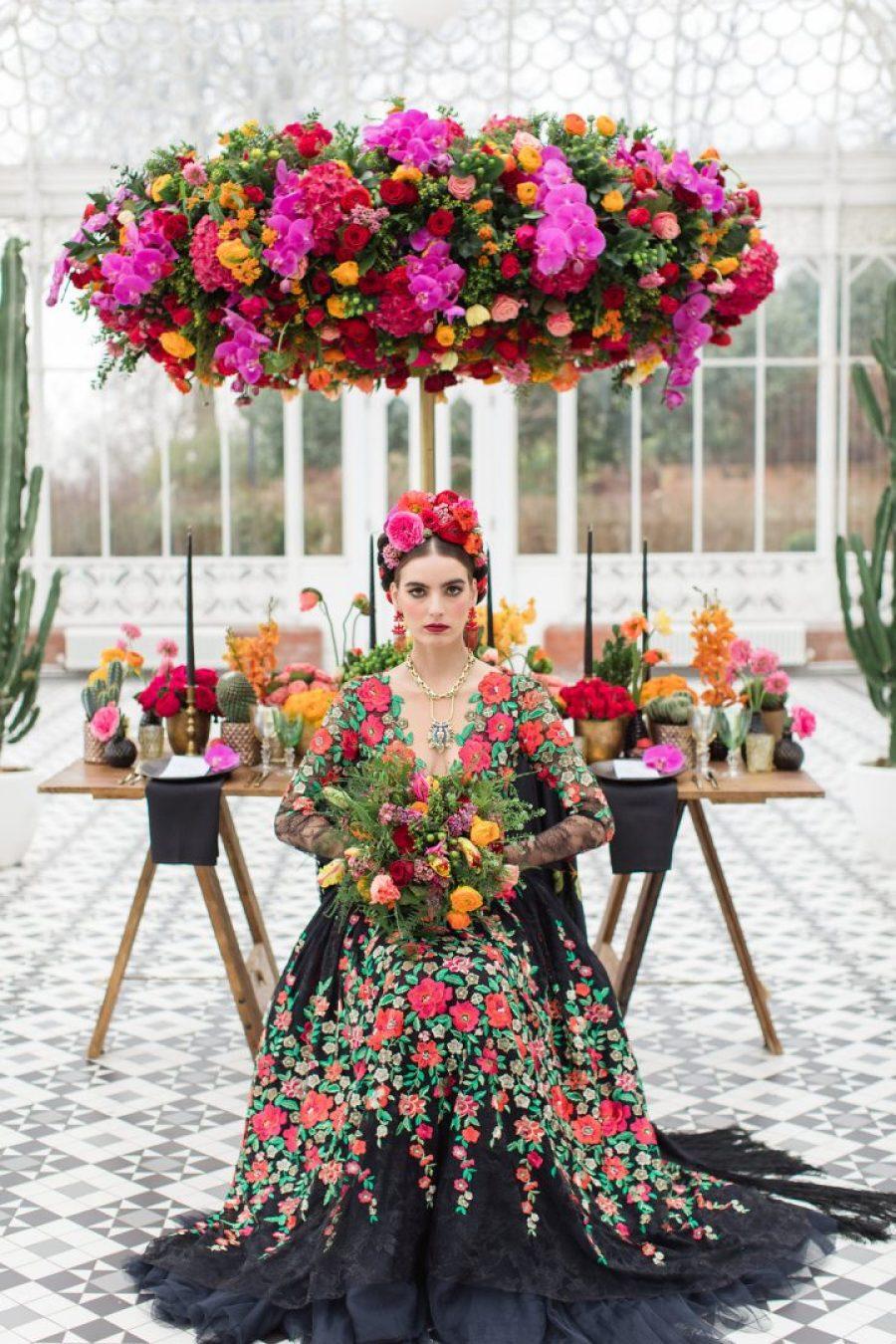 Frida Kahlo Wedding Style Shoot - Part Two