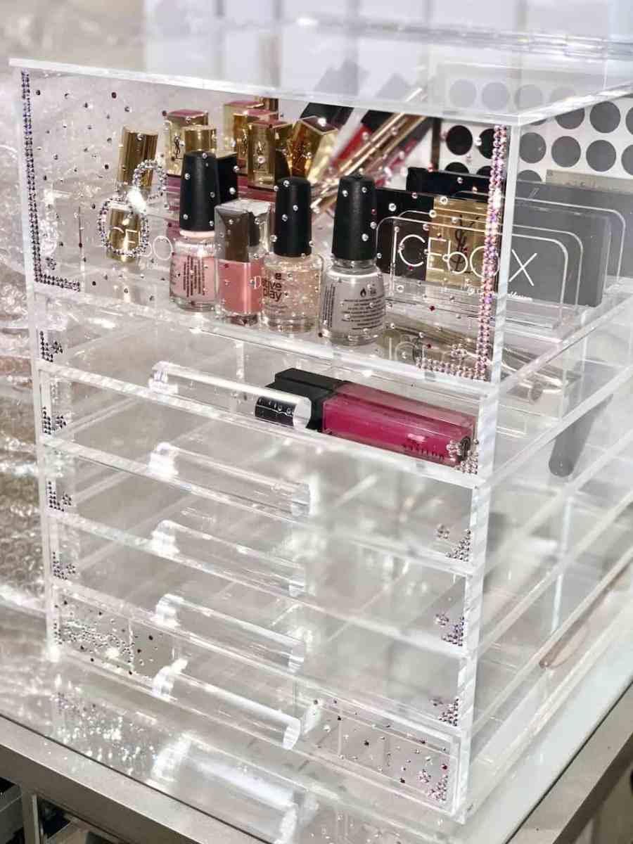 ICEbOX luxury beauty organiser from Sherrieblossom