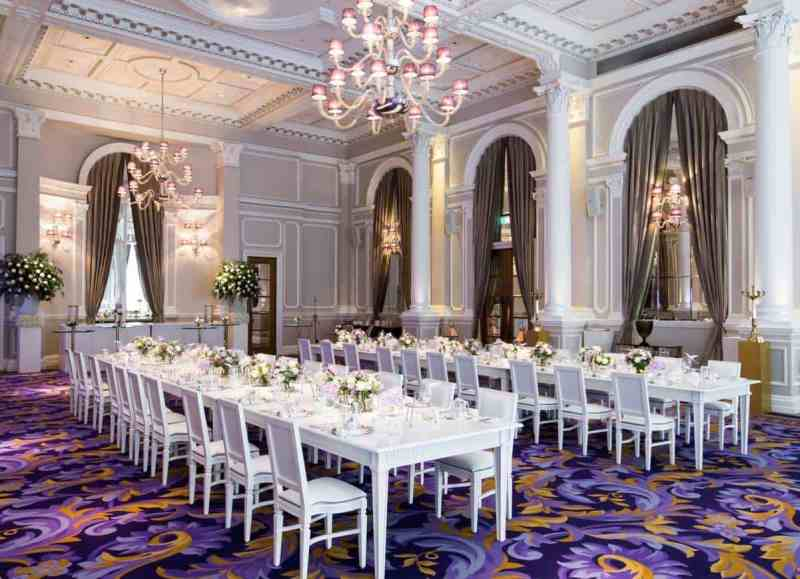 Top Five: Our 5 Star Ballrooms For Weddings