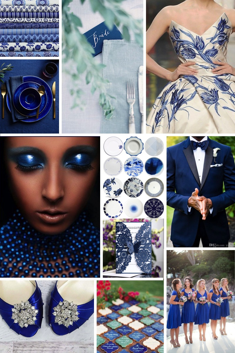 Pantone colour of the year 2020 - Classic Blue 3